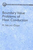 Boundary Value Problems of Heat Conduction PDF