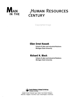 Managing Human Resources in the 21st Century PDF