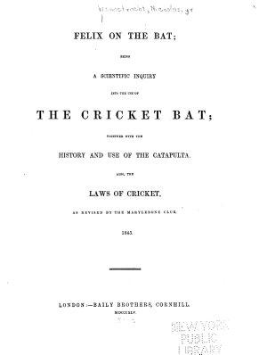 Felix on the Bat