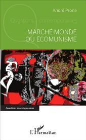 Marché-monde ou Écomunisme