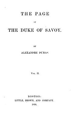 The Page of the Duke of Savoy PDF