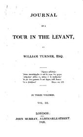 Journal of a Tour in the Levant: Volume 3