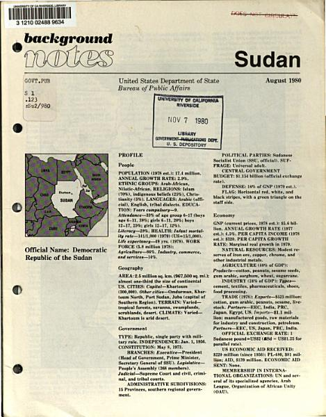 Background notes  Sudan PDF