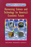 Harnessing Science and Technology for America s Economic Future PDF
