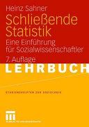 Schlie  ende Statistik PDF