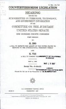 Counterterrorism Legislation PDF