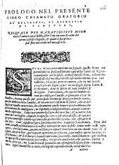 Oratorio de' religiosi, et essercitio de' virtuosi, composto dall'illustre sig. D. Antonio di Gueuara ... Tradotto per M. Pietro Lauro, ..