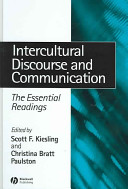 Intercultural Discourse and Communication