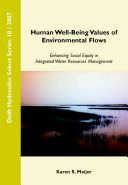 Human Well-being Values of Environmental Flows