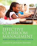 Effective Classroom Management PDF