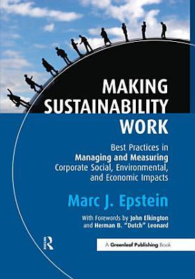 Making Sustainability Work PDF
