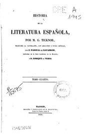 Historia de la literatura española: (1856. 504 p.)