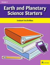 Earth and Planetary Science Starters: Instant Activities