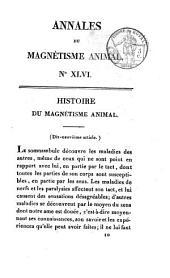 Annales du magnétisme animal: Volume46