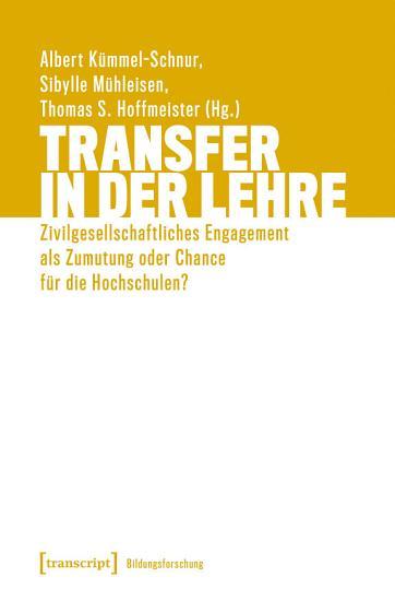 Transfer in der Lehre PDF