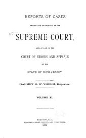 New Jersey Law Reports: Volume 40