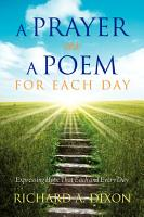 A Prayer As A Poem For Each Day PDF