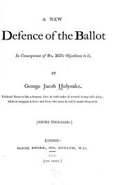 A New Defence of the Ballot