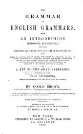 The Grammar of English Grammars: With an Introduction, Historical and Critical