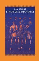 Etherege and Wycherley PDF