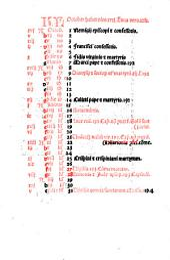 Missale s[ecundu]m ordine[m] Carthusiensium nouitur impressum cu[m] nouo et perutili repertorio ... et cu[m] anotatione ep[isto]larum ac eua[n]gelio[rum] ...