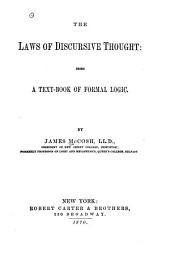 The Laws of Discursive Thought: Being a Text-book of Formal Logic