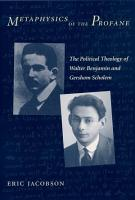 Metaphysics of the Profane PDF