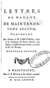 Mémoires et lettres de Mme de Maintenon: Volume8