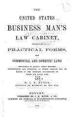 United States Business Man's Law Cabinet