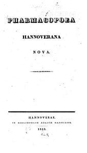 Pharmacopoea Hannoverana nova
