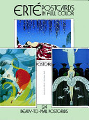 Erte Postcards in Full Color