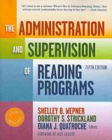 The Administration and Supervision of Reading Programs  5th Edition PDF