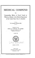 Medical Compend for Commanding Officers of Naval Vessels PDF