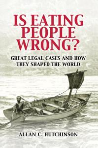 Is Eating People Wrong  Book
