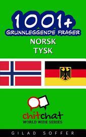 1001+ grunnleggende fraser norsk - tysk