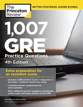 1 007 GRE Practice Questions  4th Edition PDF