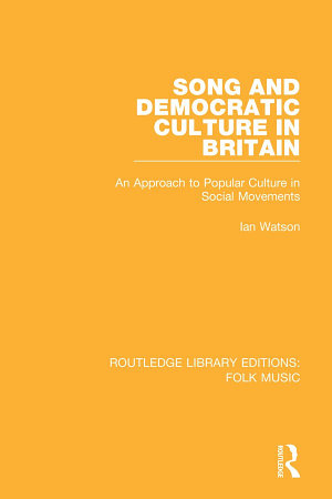 Song and Democratic Culture in Britain PDF
