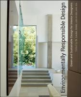 Environmentally Responsible Design PDF