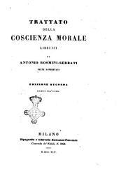 Trattato della coscienza morale: Libri 3