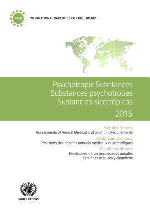 Psychotropic Substances 2015 PDF
