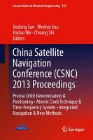China Satellite Navigation Conference  CSNC  2013 Proceedings PDF