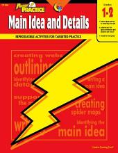 Power Practice: Main Idea and Details, Gr. 1-2, eBook