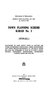 Town Planning Scheme  Karad No  1  final  Book