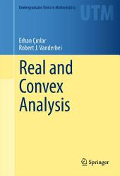 Real and Convex Analysis