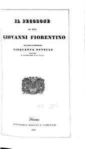 Il pecorone, nel quale si contengono cinquanta novelle antiche d'invenzione e di stile