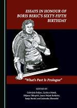 Essays in Honour of Boris Berić's Sixty-Fifth Birthday