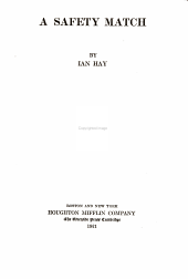The Writings of Ian Hay [pseud.]: Volume 4