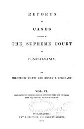 Reports of cases adjudged in the Supreme court of Pennsylvania: Volume 42
