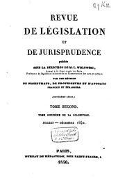 Revue de législation et de jurisprudence: Volume12