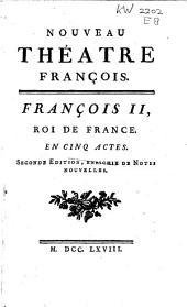Nouveau théatre François ..